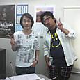 「キープオンゴーイング」ゲスト 堀江淳さんと。水割りをくださーーい♪